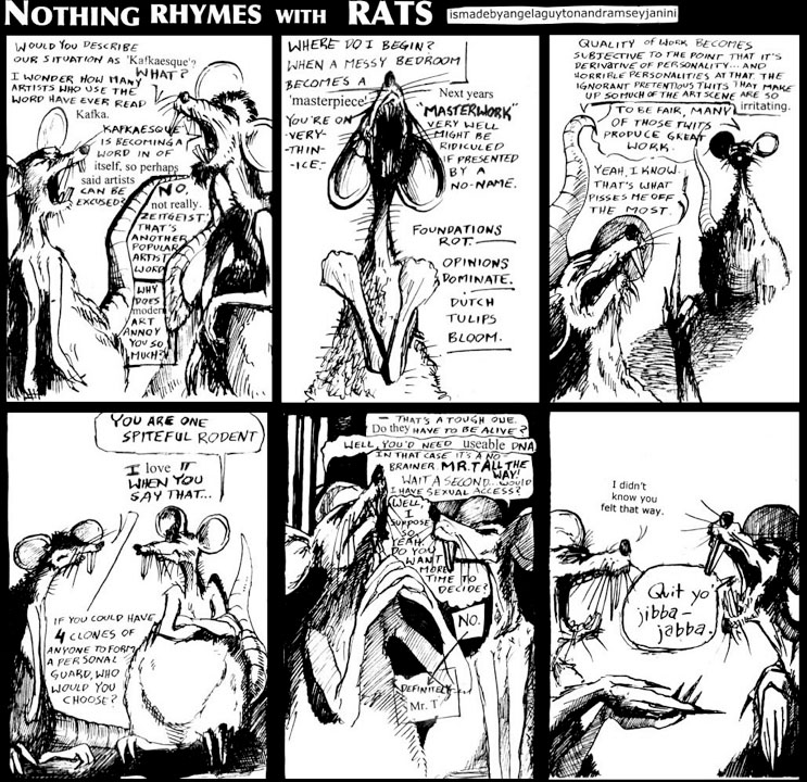 Nothing Rhymes With Rats #2 - Kafkaesque
