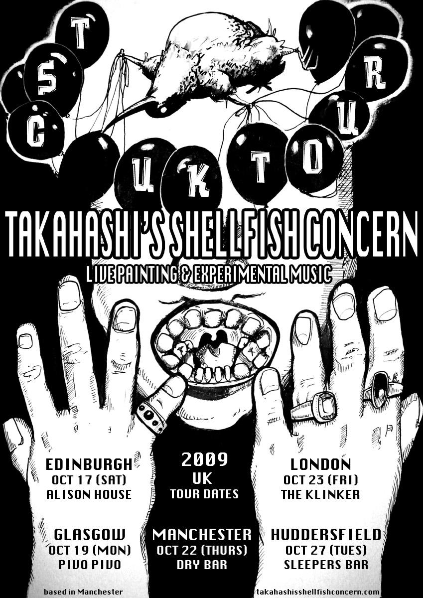 2009 tour poster