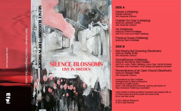 Silence Blossoms cassette tape
